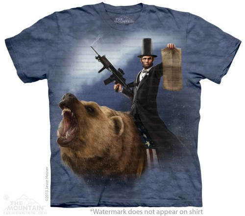 Lincoln the Emancipator - T-shirt The Mountain