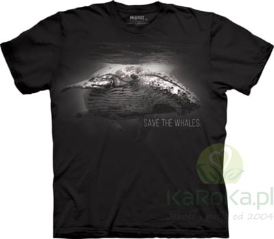Save The Whales - koszulka unisex The Mountain