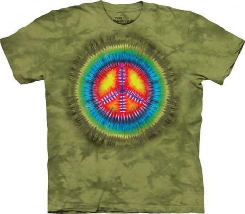 Peace Tie-Dye - koszulka The Mountain
