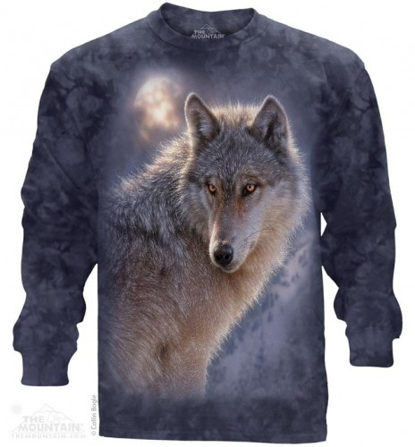 Adventure Wolf - T-shirt z długim rękawem The Mountain