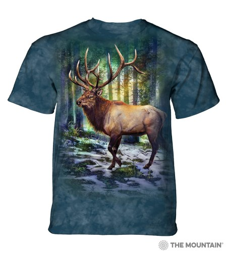 Sunlit Elk - koszulka unisex The Mountain